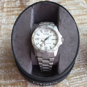 Men's Citizen Eco-drive Stainless Steel Watch